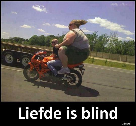 liefde is blind